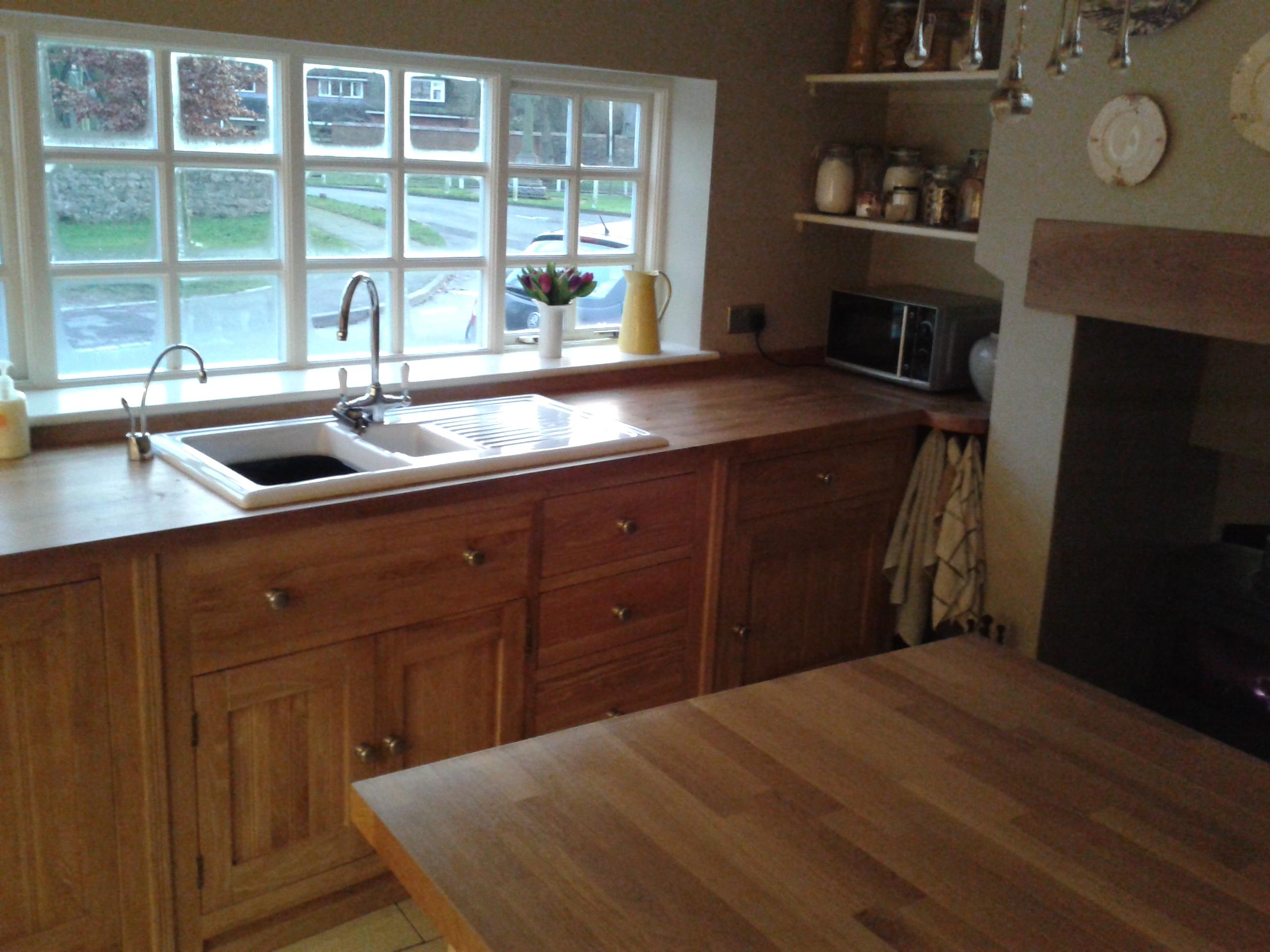 February 2014 Oak Free Standing Kitchens