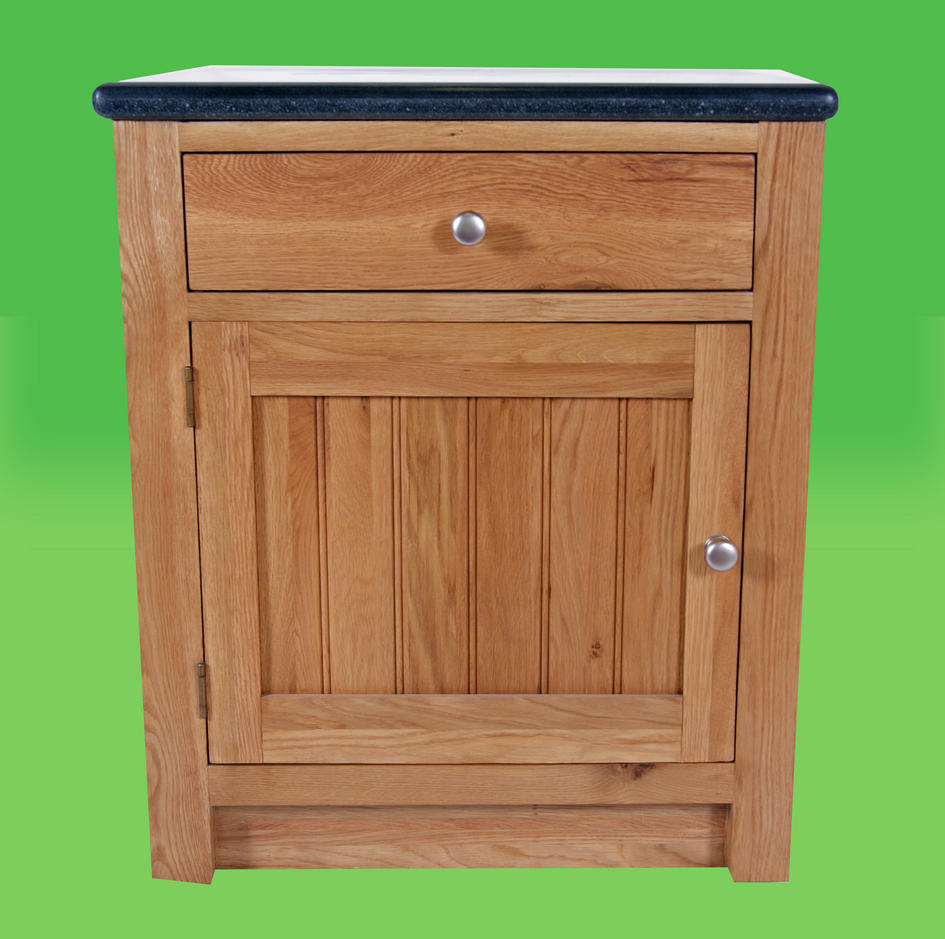 Single base unit with drawer left for Individual kitchen units