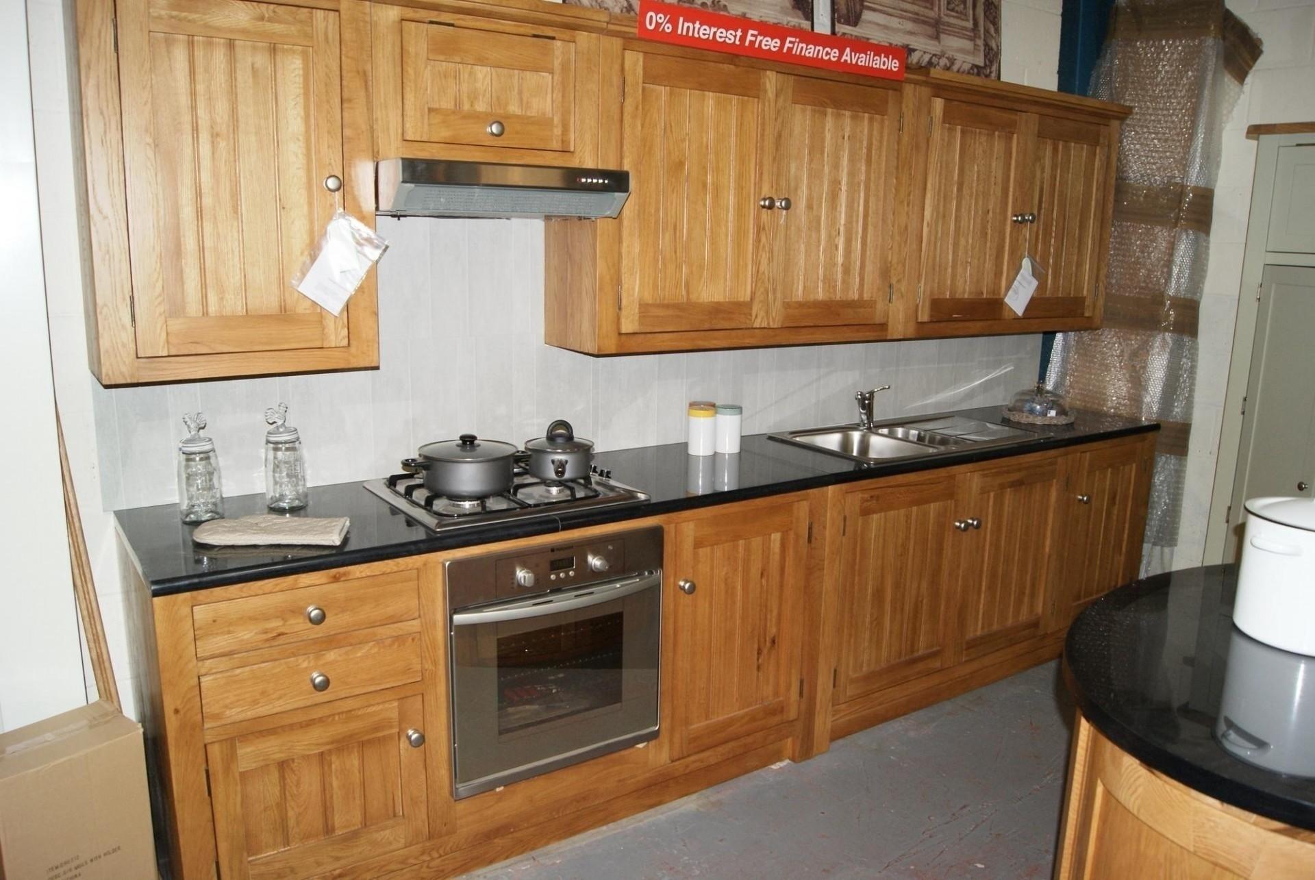 Freestanding Kitchens Quality Oak Kitchen Units