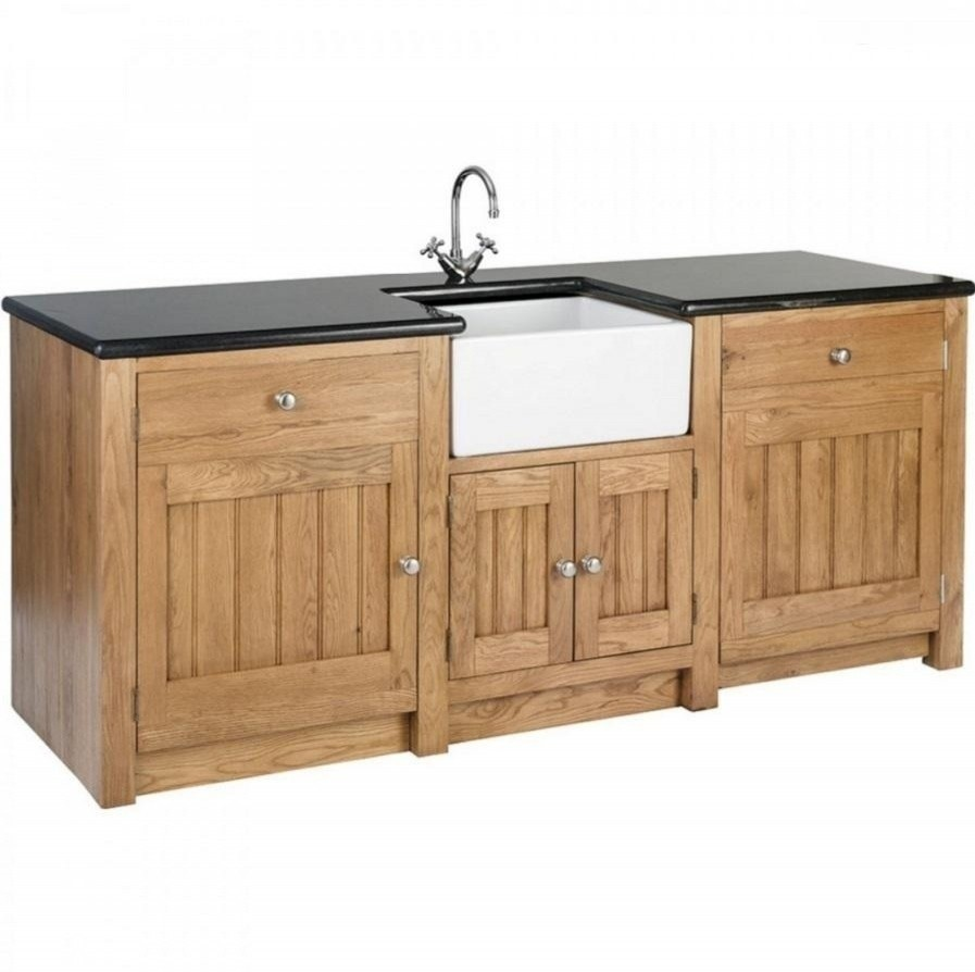 Standing Kitchen Sink Units Uk Long belfast sink unit for appliances workwithnaturefo