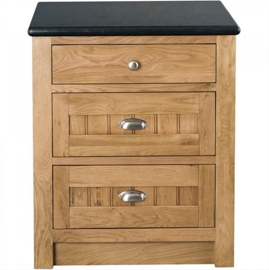 Single base unit with 3 drawers for Single kitchen cupboard