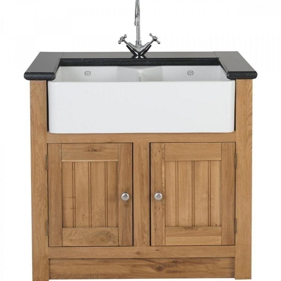 Kitchen Sink Unit Sizes: Large Double Butler Sink