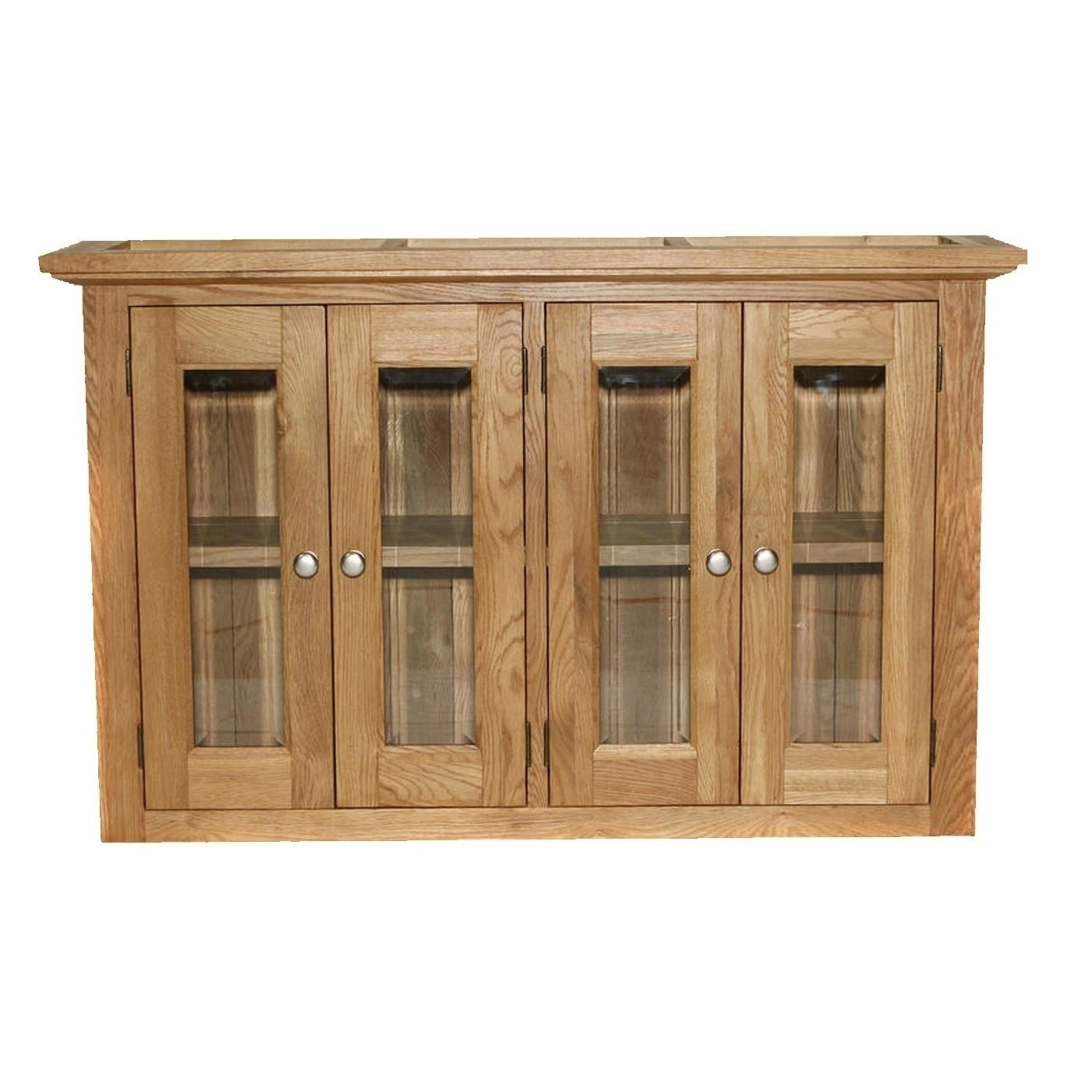 Large glazed wall unit for Large kitchen wall units