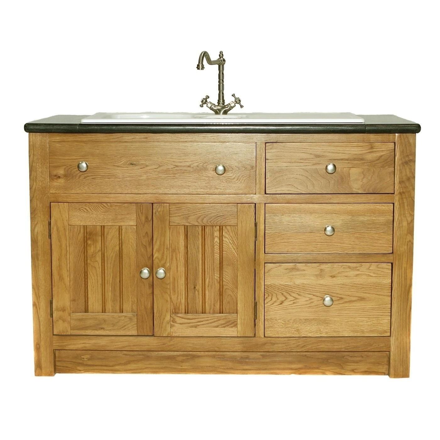 Free standing kitchen sink cabinet modern kitchen storage Free standing bathroom sink cabinets