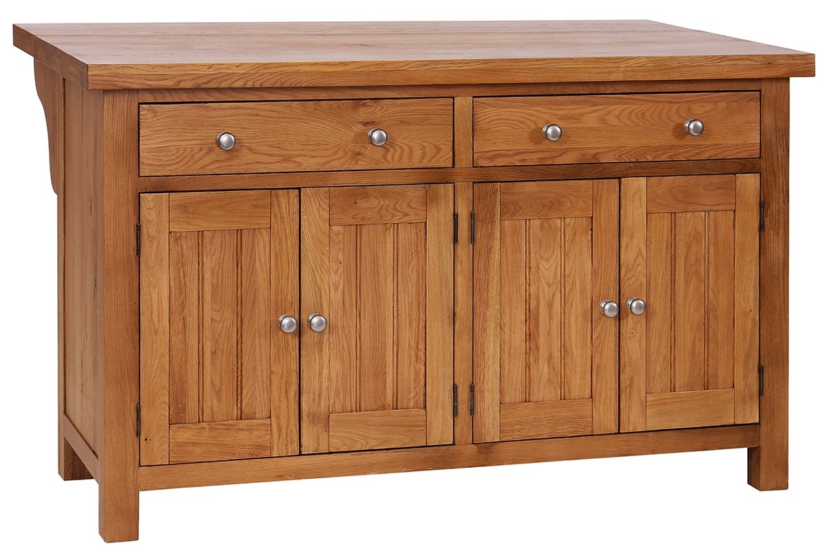 Oak Kitchen Breakfast Bar