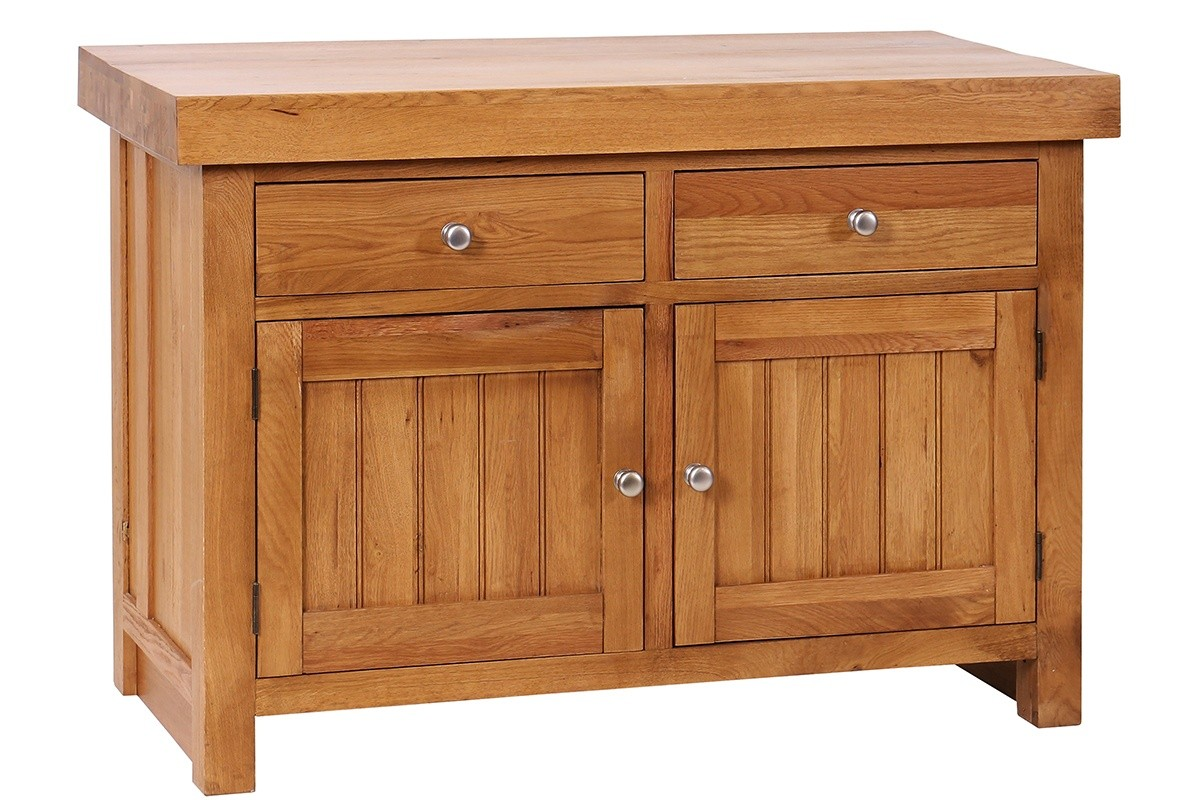 Oak kitchen Butchers Block Island