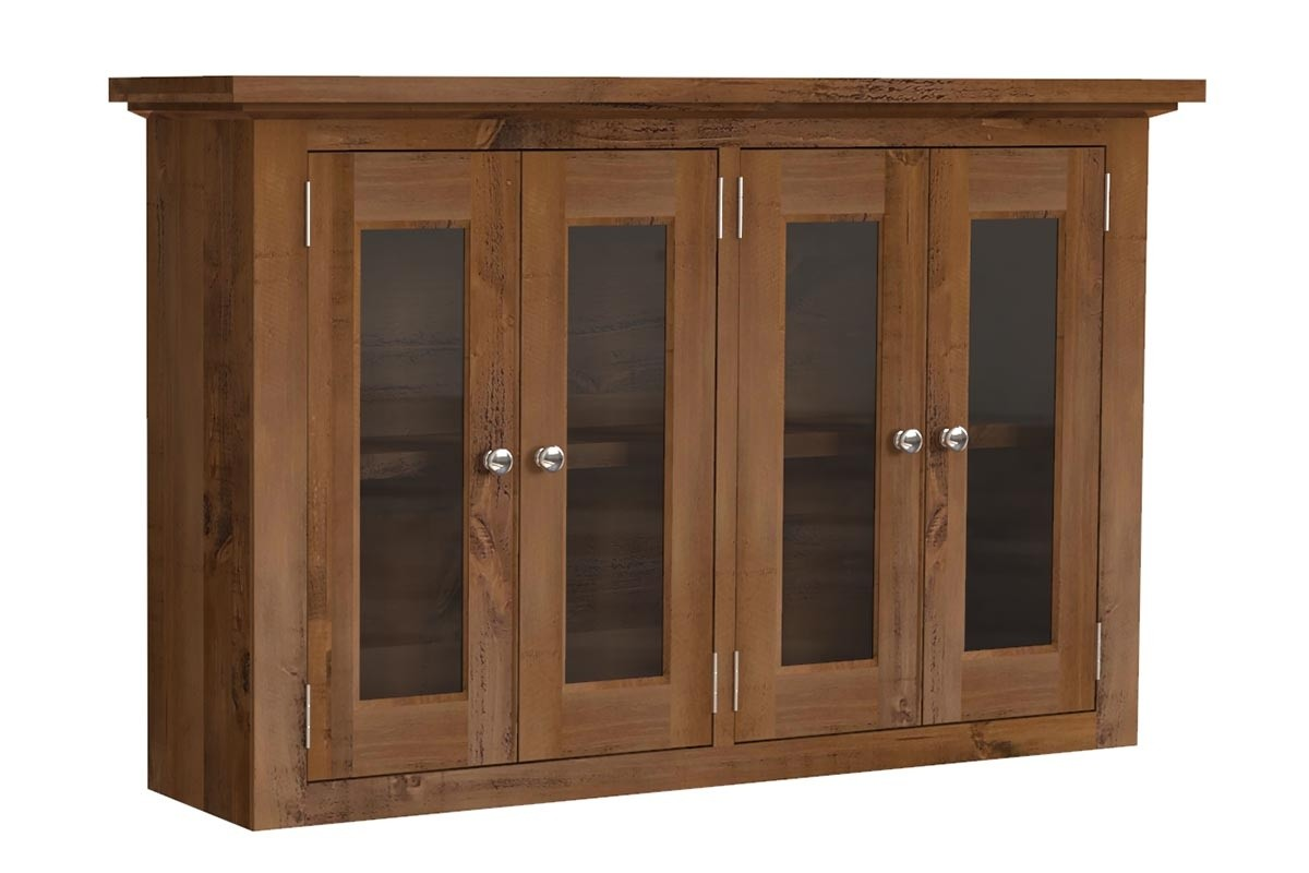 Glazed Double Wall Cabinet